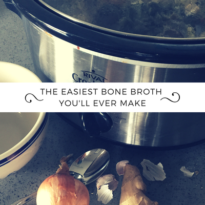 "Photo of two bowls of easy, healthy granola with caption ""Easy healthy granola you don't have to feel guilty about"""